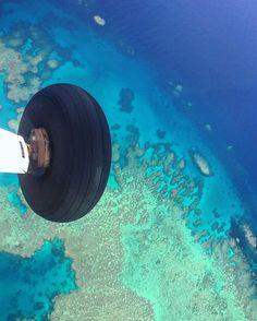 #greatbarrierreef #coralsea #australia #airplane #airplanewheel by damiencrosse_official http://ift.tt/1UokkV2