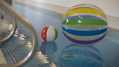 Children will adore the fantastic pool at Eadric House, a luxury self-catering family holiday home in Devon #swimmingpool #pool #swim #beachball #ball #splash #funtime