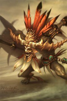 Witch Doctor, Diablo 3 - http://wanelo.com/p/3870872/diablo-3-war-the-secret-formula-to-leveling-and-making-gold-in-diablo-3