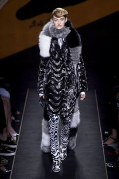 320be99279 A look from the Fendi fall 2015 couture collection. Photo  Imaxtree.  Couture Week