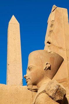 Obelisk of Hatshepsut, Temple of Amun, Karnak, Thebes