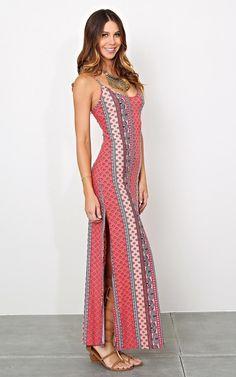 Summer in Dubai Knit Maxi Dress - Casual - Dresses - Shop