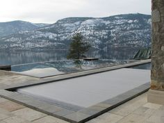 """Another beautiful pool with our industry unique """"In-floor"""" HydraLux model #2. This was is in British Columbia"""
