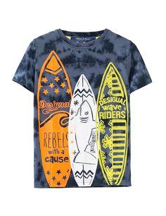 T-shirts print - shale - Zalando. Baby Girl Shirts, Boys Shirts, T Shirts, Printed Shirts, Shirt Print Design, Tee Design, Shirt Designs, Boys Summer Outfits, Boy Outfits