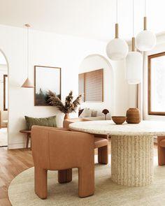 Interior Design Inspiration, Home Decor Inspiration, Home Interior Design, Piece A Vivre, Dining Room Design, Minimalist Home, Home Bedroom, Home And Living, Living Room Decor