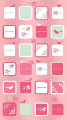 pink icons iphone 5 wallpaper - 50+ Examples of iPhone 5 wallpaper  <3 !