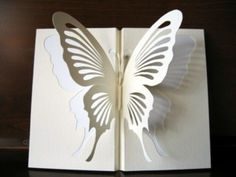 how to make a 3d butterfly out of cardboard