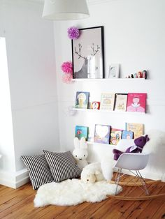 Reading nooks for girls #kids #interior #deco