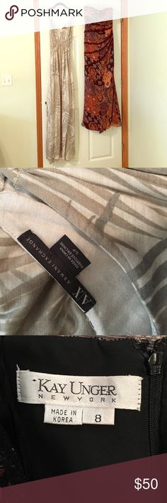 Armani Exchange & Kay Unger maxi dress Armani Exchange & Kay Unger maxi dress! Both dresses only worn once, and in excellent condition! Thanks for looking! Armani Exchange Dresses Maxi