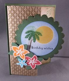 stampin up tropical party cards | Stampin'Up!™1990-2010