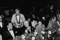 """James Cagney Award Celebration"" Ronald Reagan, James Cagney March 13, 1974"