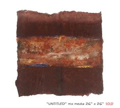 mix media on cotton wool,  size :26''x26''.2006, private Collection