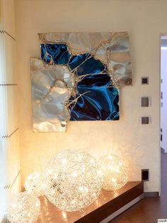 Resin Wall Art, Epoxy Resin Art, Diy Resin Art, Diy Resin Crafts, Metal Wall Art, Metal Sculpture Artists, Wall Sculptures, Welding Art Projects, Diy Welding