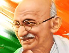 Gandhi Jayanti 20 Quotes Inspiring by Mahatma Gandhi - Whatsapp Status India Painting, Good Morning Wallpaper, Mahatma Gandhi, World Peace, Frame Gallery, Things To Come, Songs, Instrumental, Celebrities