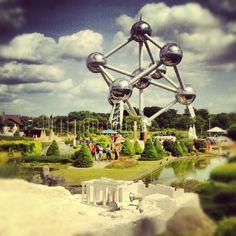 L'Atomium.