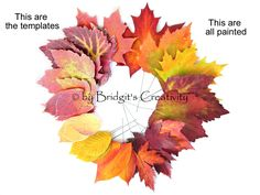 My paper leaves Paper Leaves, Leaf Template, Autumn Leaves, Creative, Fall Leaves, Autumn Leaf Color