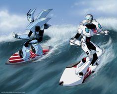 Just surfin'