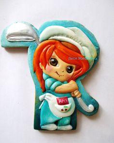Юному повару #gingerbread #dnepr #icing #icedcookies #пайпинг #днепр #пряники #пряникиназаказ
