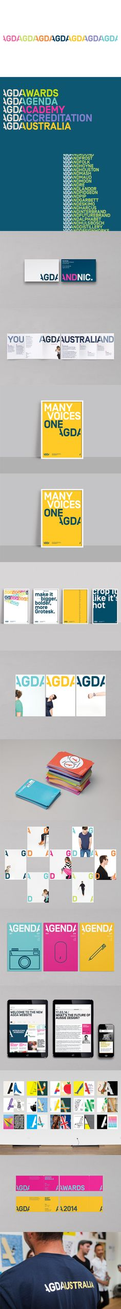 AGDA rebrand by Interbrand