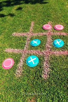 Diy giant backyard frisbee tic-tac-toe game diy adulation темы вечеринки, п Fun Games For Kids, Diy For Kids, Activities For Kids, Backyard Games For Kids, Outside Games For Kids, Indoor Activities, Outdoor Party Games, Outdoor Fun, Outdoor Toys