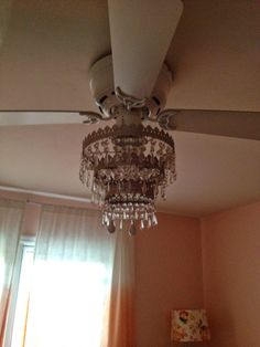 Ceiling Fan Light Kit Chandelier | Chandeliers | Pinterest | Fan ...