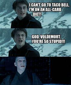 Voldemort you idiot!