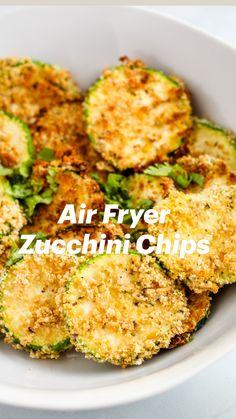 Air Fryer Recipes Keto, Air Frier Recipes, Air Fryer Dinner Recipes, Veggie Recipes, Appetizer Recipes, Vegetarian Recipes, Cooking Recipes, Healthy Recipes, Chicken Recipes