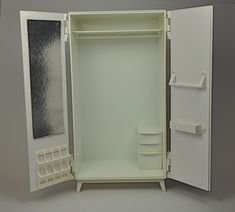 1968 Sindy wardrobe - I had one of these but the door broke off.