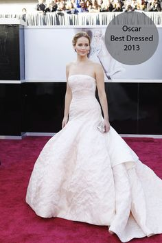 Six Best Dressed Looks & Why they made the cut!!!  The Academy Awards   Oscar 2013   Red Carpet   Oscar Gowns