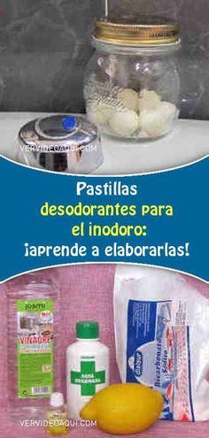 Cómo hacer que tu inodoro huela siempre bien. Pastillas desodorantes para el inodoro: ¡aprende a elaborarlas! #pastillas #deodorant #baños #inodoro #limpieza