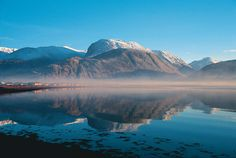 """Ben Nevis. """"the mountain with it's head in the clouds"""""""