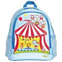 Bobble Art Circus Large PVC Backpack www.mamadoo.com.au #mamadoo #bags #kidsbackpacks