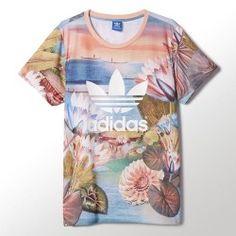 Camiseta Adidas Curso Logo Tee mujer