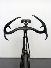 antler bike handles #fixie #design #bike akalola.tumblr.com