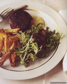 ... steak frites. main Beef Tenderloin With Shallot Mustard Sauce side
