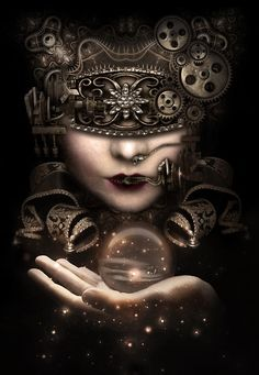 She holds the Universe in her hand. ~Gathering~
