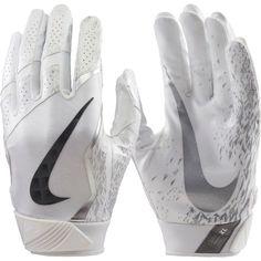 Nike Adult Vapor Jet 4.0 Shattered Speed Receiver Gloves, Red