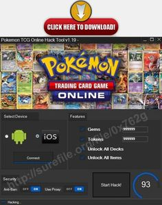 Download: http://surefile.org/file/0x762g   Pokemon TCG Online Unlimited Gems Cheats 2141 Pokemon TCG Online Hack Gems TokensPokemon TCG Online Unlimited Tokens Cheats 2141 Pokemon TCG Online Hack Gems TokensPokemon TCG Online Cheats & Tricks 2141 Pokemon TCG Online Hack Gems TokensPokemon TCG Online iOS and Android Hack Latest Version (Auto Update) 2141 Pokemon TCG Online Hack Gems TokensUndetectable (100% Guaranteed)
