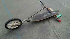 homemade electric trike low rider, easy to build 1000W