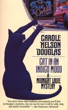 Cat in an Indigo Mood (Midnight Louie, #10)