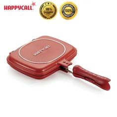 Happycall Nonstick Double Sided Pressure Titanium Cutie Frying Pan for Cooking #Happycall