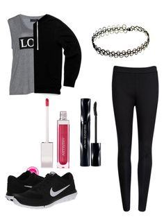 """Untitled #36"" by sammyhibbs1 ❤ liked on Polyvore featuring beauty, Carmakoma, Ted Baker, Shiseido and NIKE"