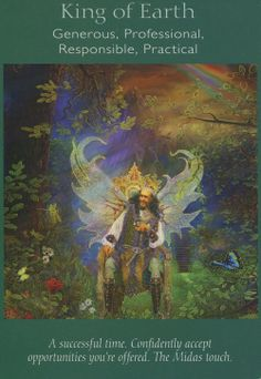 Angel Tarot Cards - King of Earth