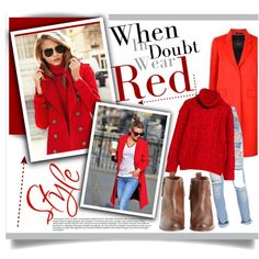 """LADY IN RED"" by rachel-mater on Polyvore"