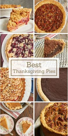 The very best of Bake or Break's Thanksgiving pies!