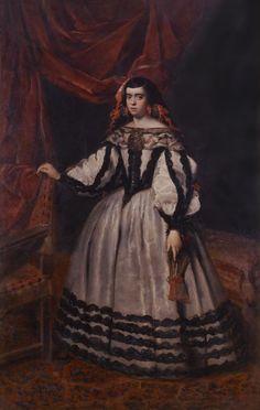 Duquesa de Híjar by Juan Bautista del Mazo (Museo de la Real Academia de Bellas Artes de San Fernando - San Fernando Spain) | Grand Ladies | gogm
