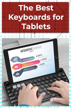 The Best Tablet Keyboards Microsoft Surface, Tech Gadgets, Cool Gadgets, 10 Inch Tablet, Bluetooth Keyboard, Infographic Templates, Animal Design, Ipad Pro, Ipad Case