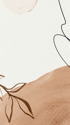 Neutral Wallpaper, Brown Wallpaper, Graphic Wallpaper, Aesthetic Pastel Wallpaper, Aesthetic Backgrounds, Aesthetic Wallpapers, Flower Background Wallpaper, Wallpaper Backgrounds, Blog Backgrounds
