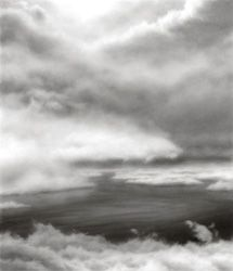 HILARY BRACE - charcoal drawing, landscape, clouds, water                                                                                                                                                     More