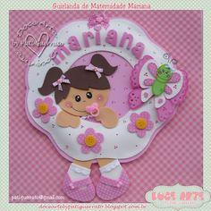 Doce Arte by Pati Guerrato: Guirlanda de Maternidade - Mariana
